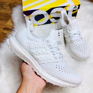 New Adidas Ultraboost Clima White Grey Sneakers